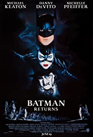 VHS Tape. Batman Returns starring Michael Keaton, Michelle Pfeiffer & Danny DeVito
