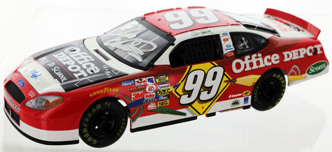 Carl Edwards. 2005 #99 Office Depot Back To School Ford. Autographed
