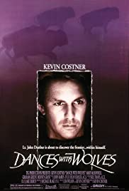 VHS Tape.  Dances with Wolves starring Kevin Costner, Mary McDonnell and Graham Greene