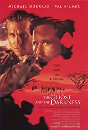 VHS Tape. The Ghost and the Darkness starring Michael Douglas and Val Kilmer