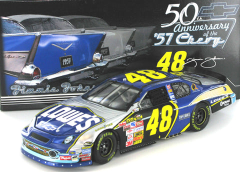 Jimmie Johnson #48 Lowe's 57 Chevy 2007 Monte Carlo SS Nascar Diecast