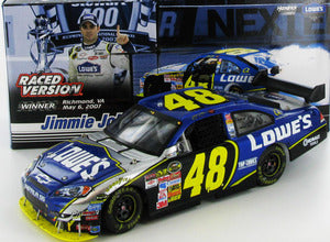 Jimmie Johnson #48 Lowes Impala SS Raced Version Nascar Diecast