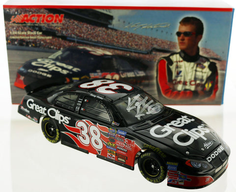 Kasey Kahne. #38 Great Clips 2004 Intrepid Club Car. Autographed.