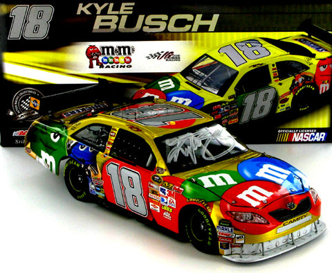 Kyle Busch #18 M and M's 2008 Camry Liquid Color Nascar Diecast
