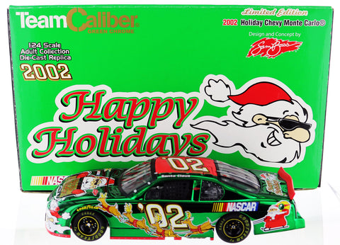 2002 Limited Edition Holiday Chevy Monte Carlo. 1-24th scale diecast