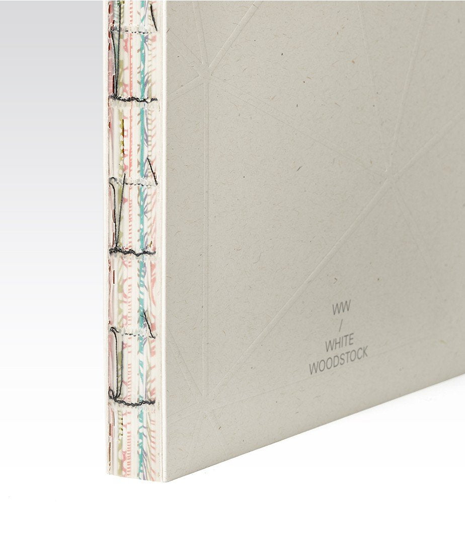 Fabriano Woodstock Notebook (Small White)