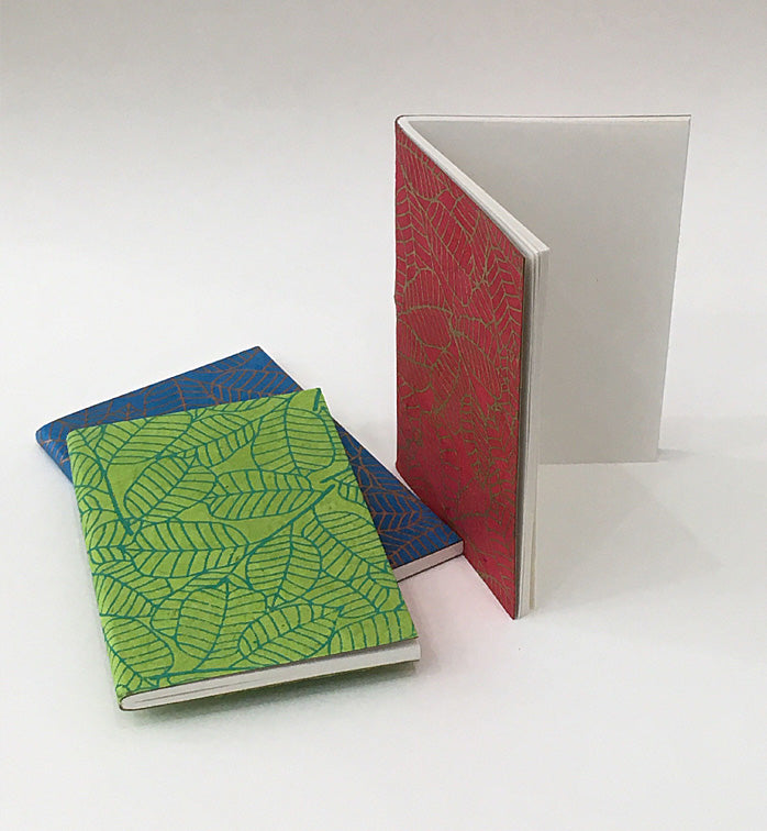 Nepal Lokta Leaves Mini Notebook (3 pack)