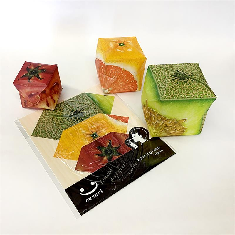 Kamifusen - Square Paper Balloons - Fruit A
