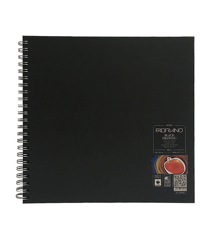 Fabriano Black Drawing Book