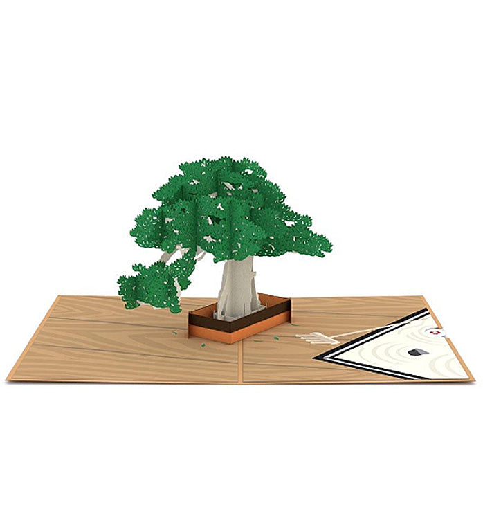 Lovepop Pop-up Card: Bonsai Tree