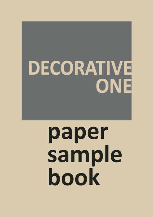 Decorative Paper Sample Book 1