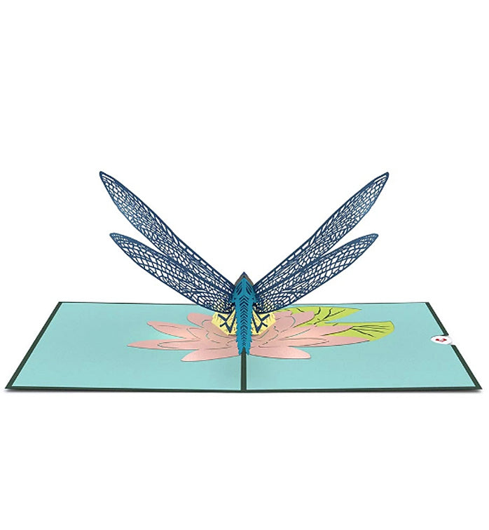 Lovepop Pop-up Card: Dragonfly 3D card
