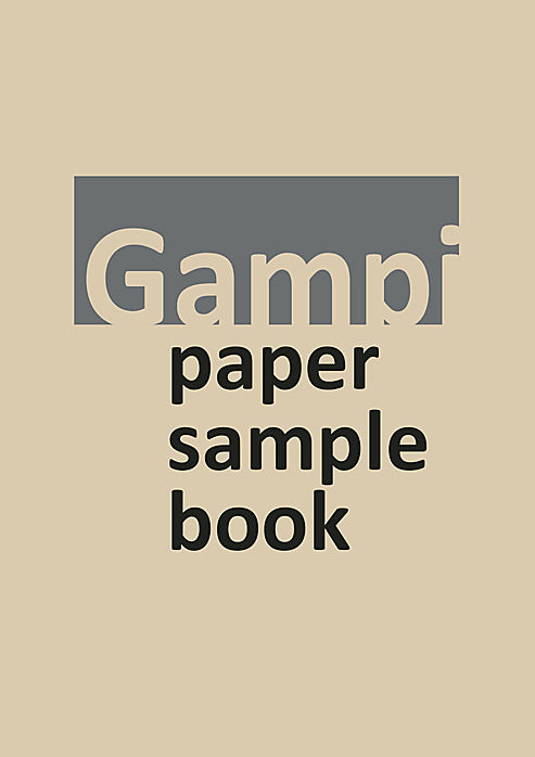 Gampi Sample Book