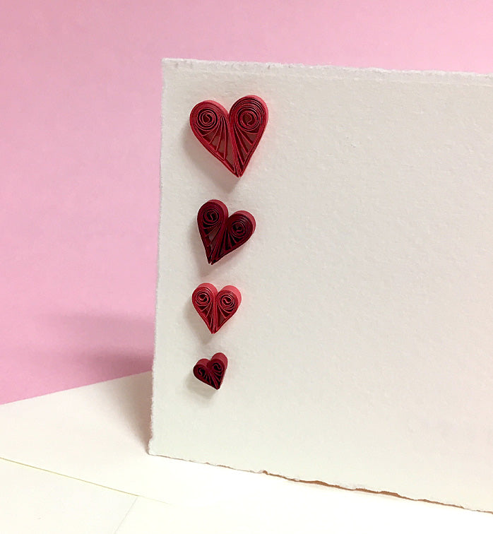 Fabriano greeting card - 3D Heart