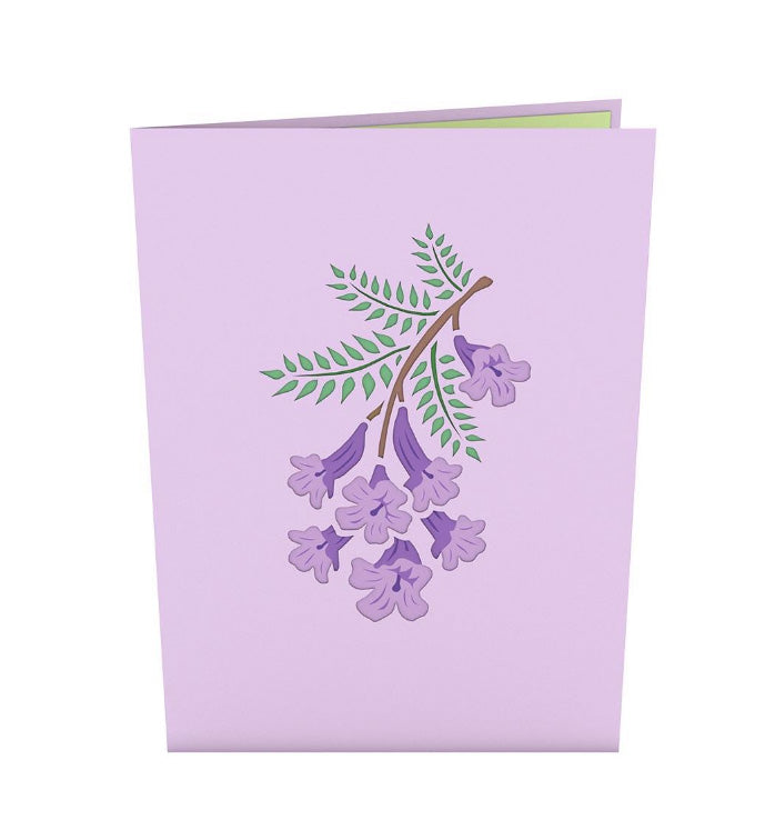Lovepop Pop-up Card: Jacaranda Tree