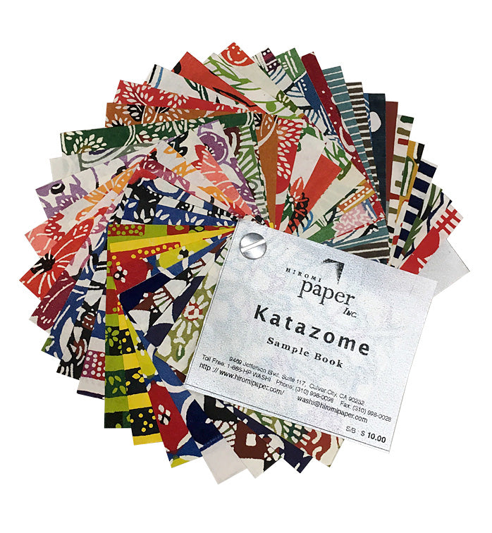 Katazome Sample Book