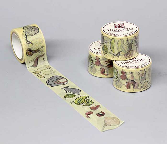 Ukiyoe Washi Tape: M-13 Animals