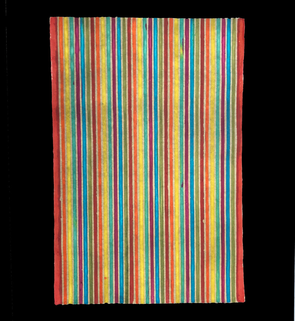 Batik Nepal Rainbow Stripe and Square