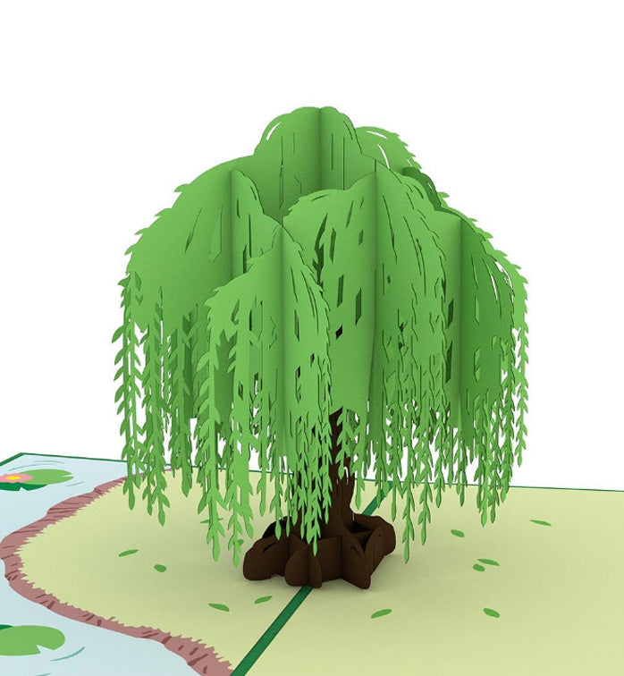 Lovepop Pop-up Card: Willow Tree