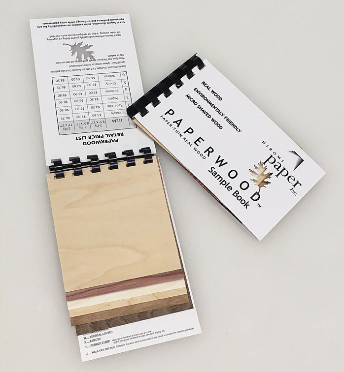 Paperwood Sample Book
