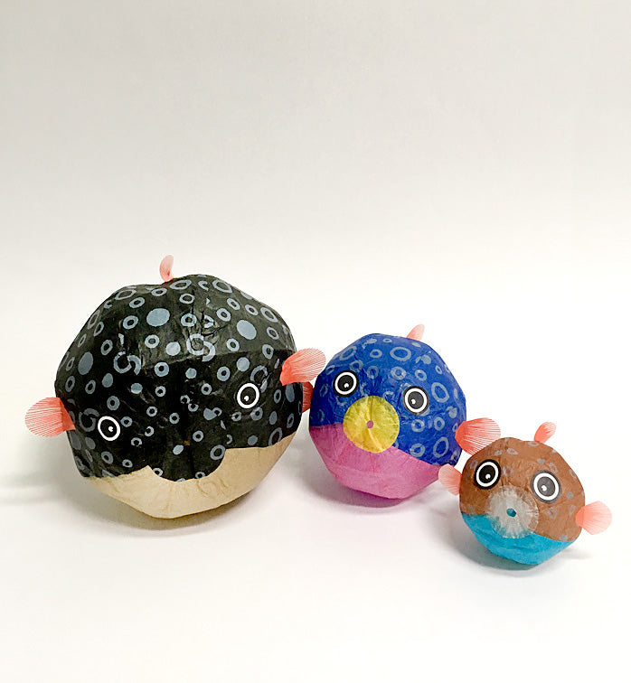Kamifusen Balloons: Blowfish