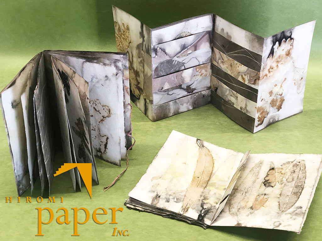 2-DAY WORKSHOP: Nature Printing and Bookbinding with Rebecca Chamlee