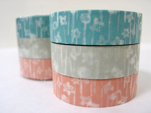 Small Flowers Washi Tape