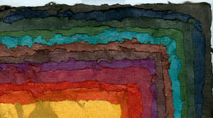 "Yucatan Patched Colors 8.5""x12.5"""