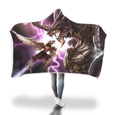 Mini-Me Dragon Hooded Blanket