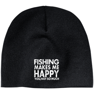 Fishing Makes Me Happy Hat 3