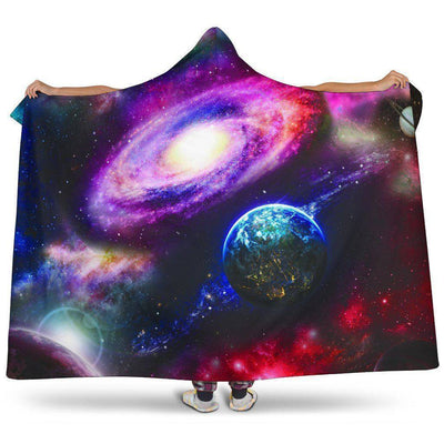 Cosmos Hooded Blanket  FREE SHIPPING WORLDWIDE