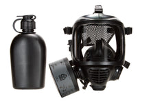 CM-6M tactical gas mask with one CBRN filter