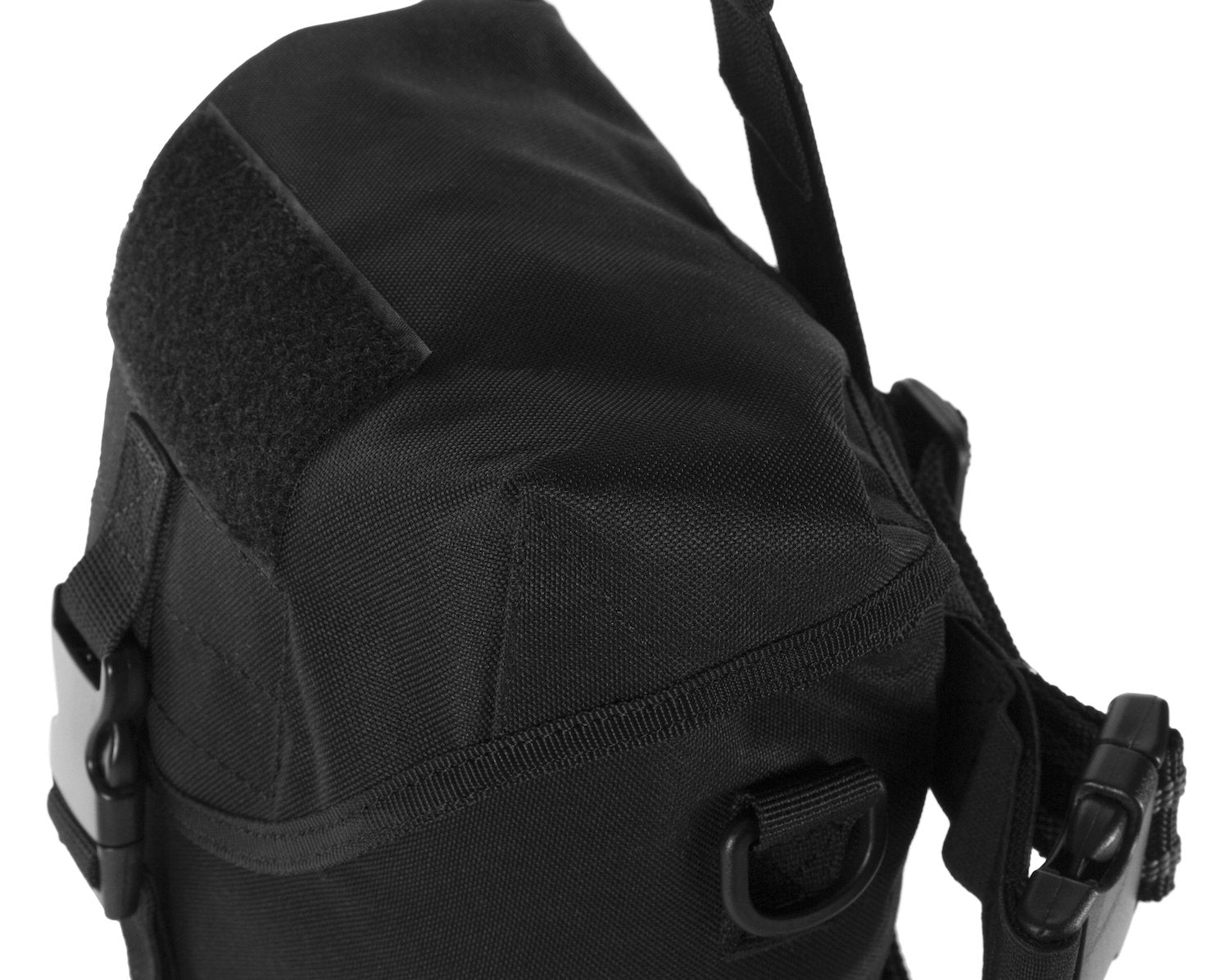 MIRA Safety gas mask pouch closeup side view
