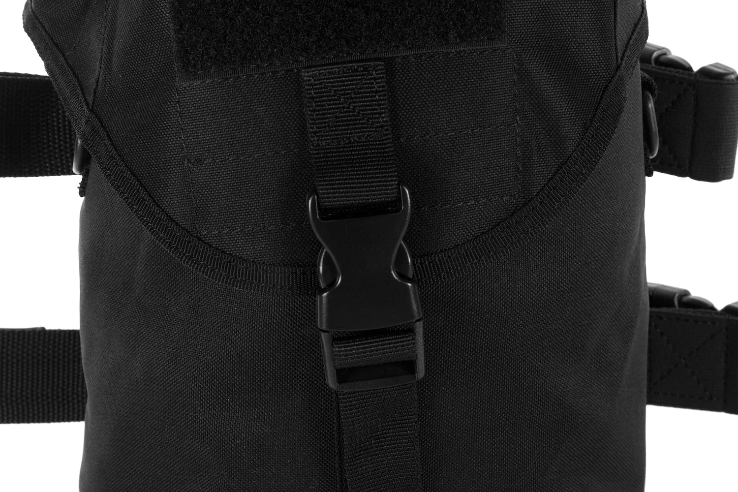MIRA Safety gas mask pouch front view closeup