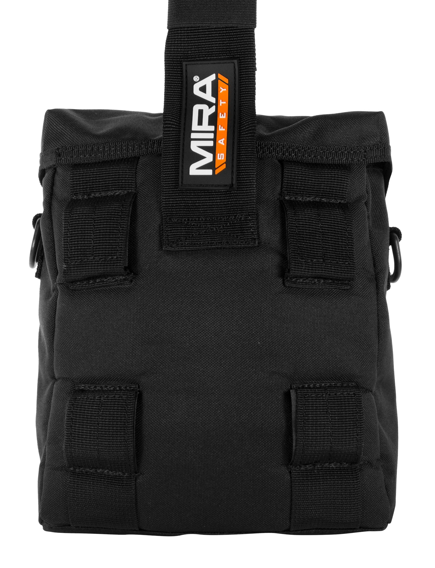 MIRA Safety gas mask pouch back view without straps