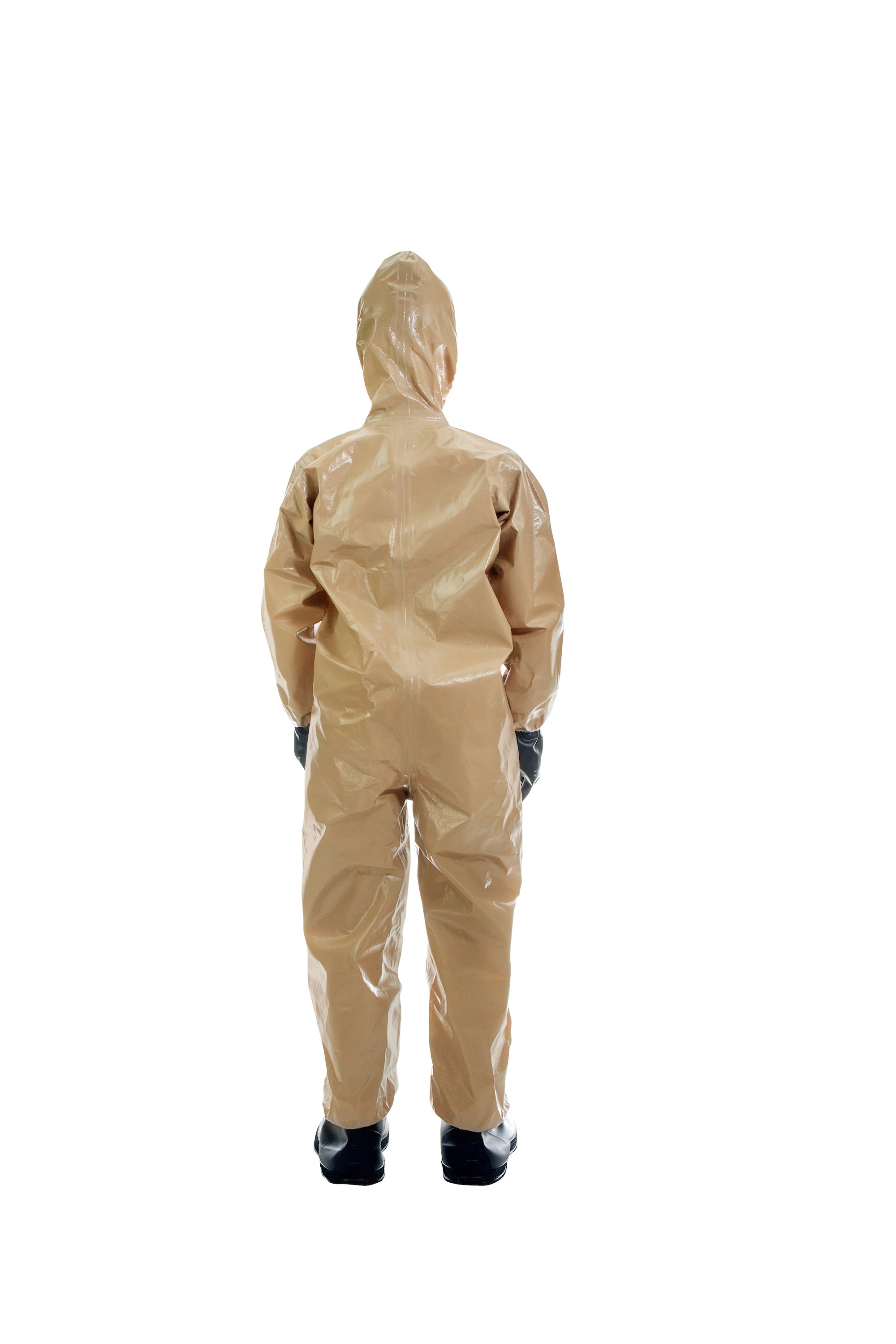 Back view of a child wearing the HAZ-SUIT HAZMAT Suit