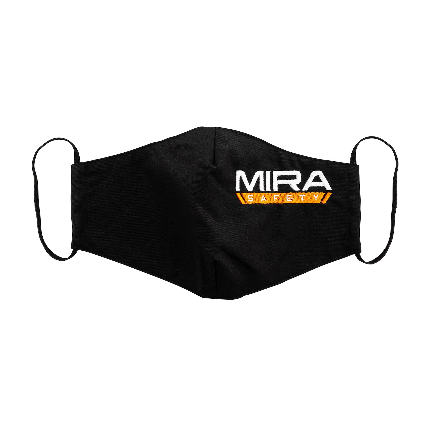 Front view of the MIRA Safety Mask with the classic logo