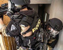 SWAT Team wearing the MIRA Safety CM-6M Tactical Gas Mask