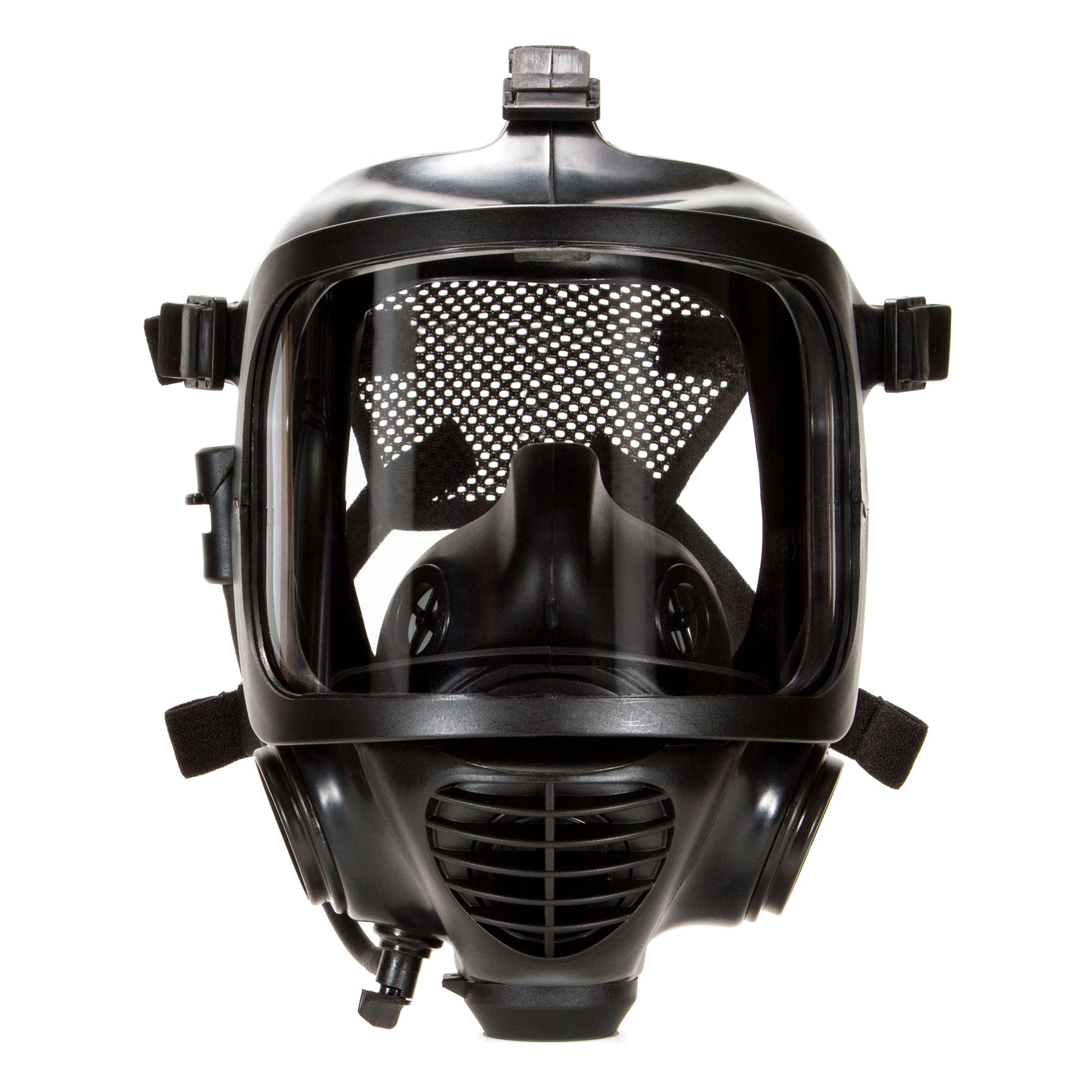 Closeup of CM-6M tactical gas mask