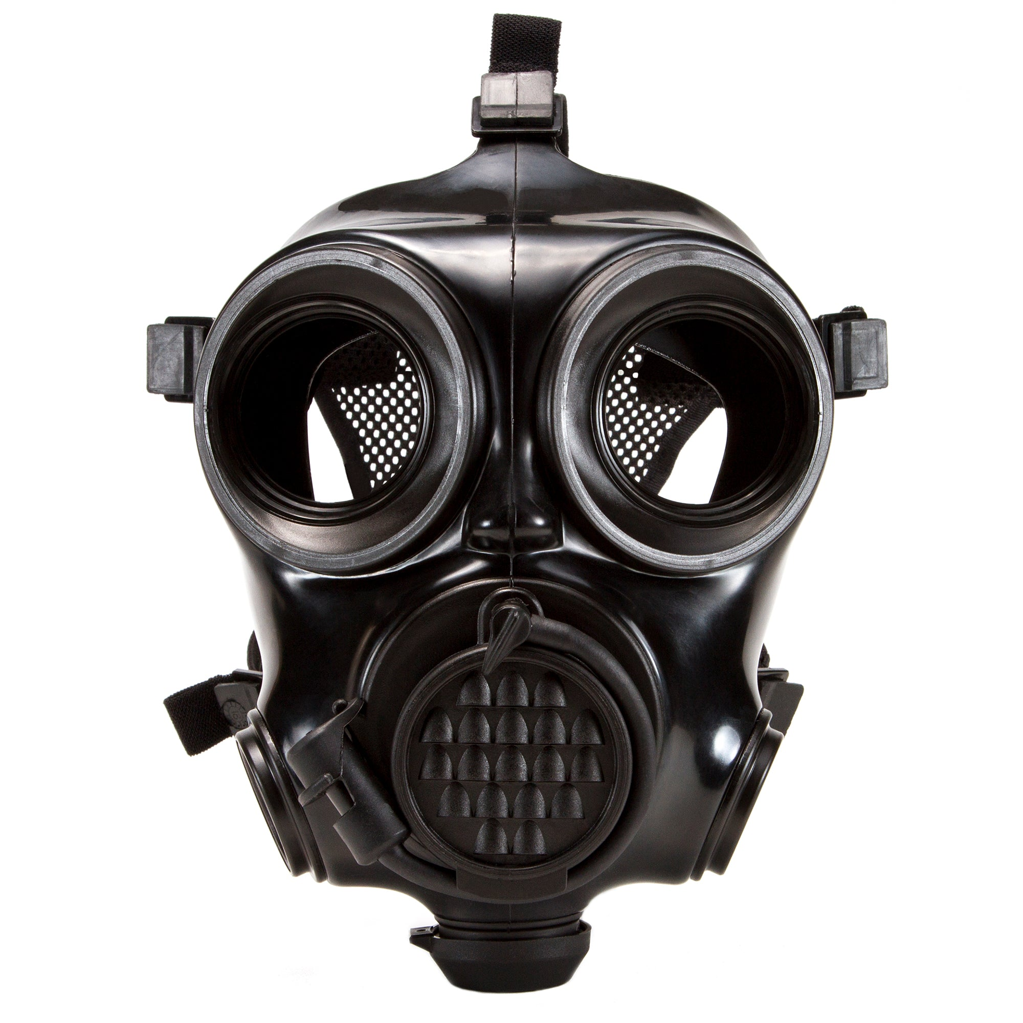 Close up of the CM-7M Military Gas Mask