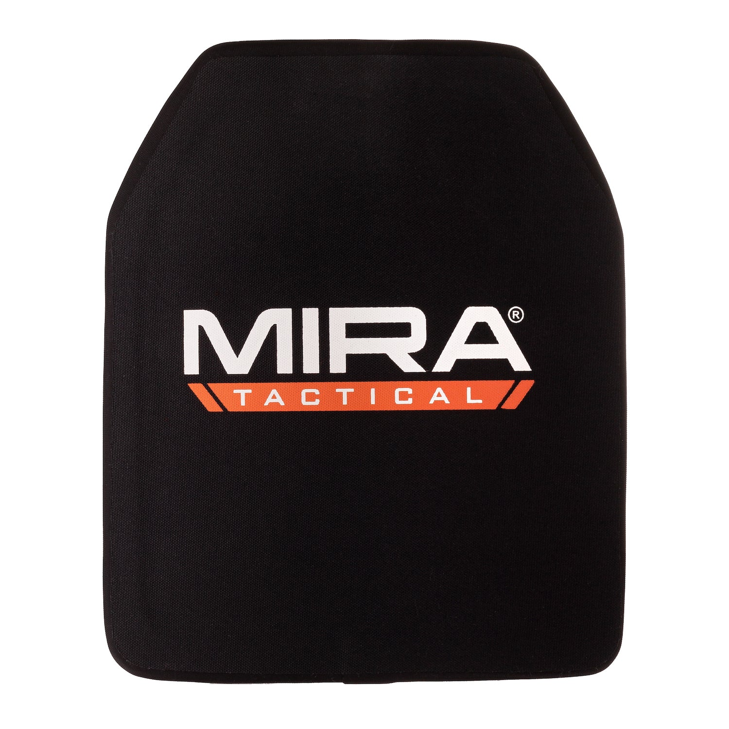 Front of MIRA Tactical level 4 body armor plate