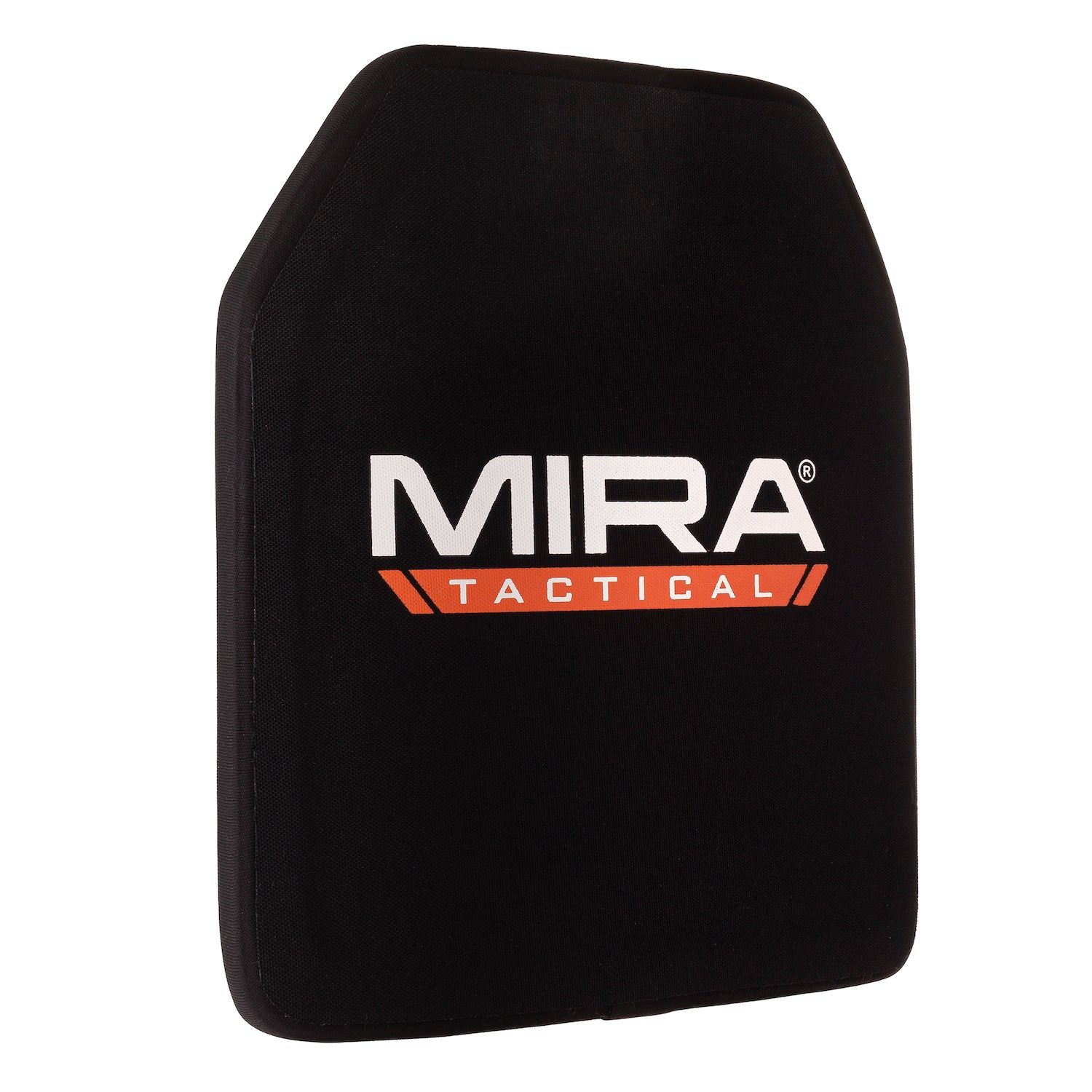 45 degree turn of MIRA Tactical level 4 body armor plate