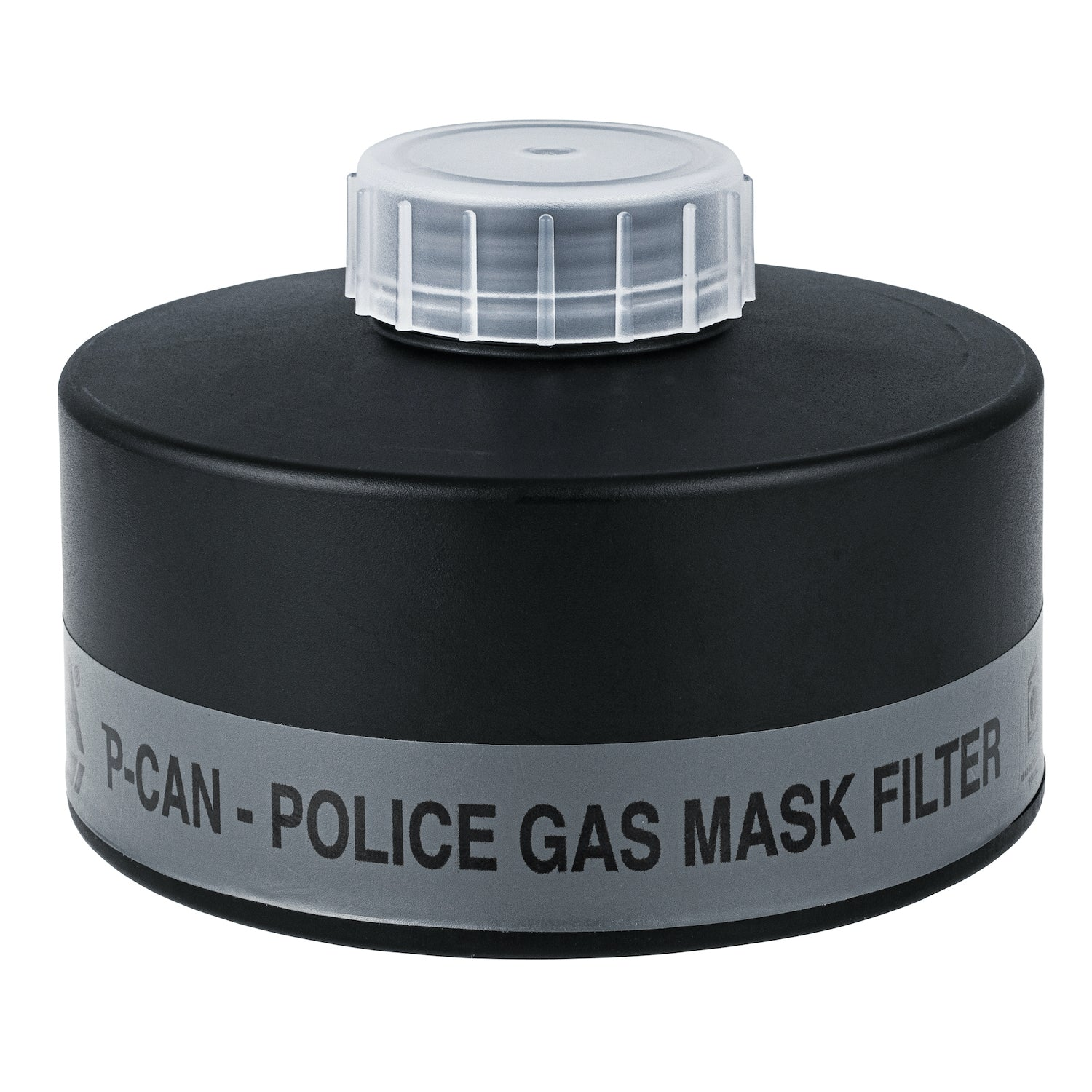 P-CAN Police Gas Mask Filter front view