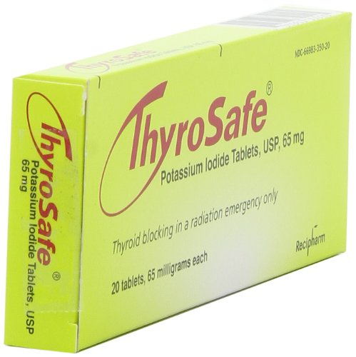 Thyrosafe potassium iodide packaging other side view