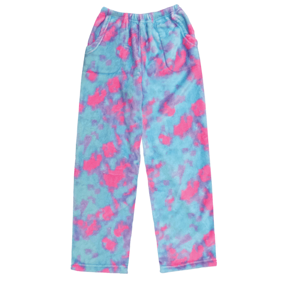 Sherbert Plush Tie Dye Sleep Pants- 2 sizes