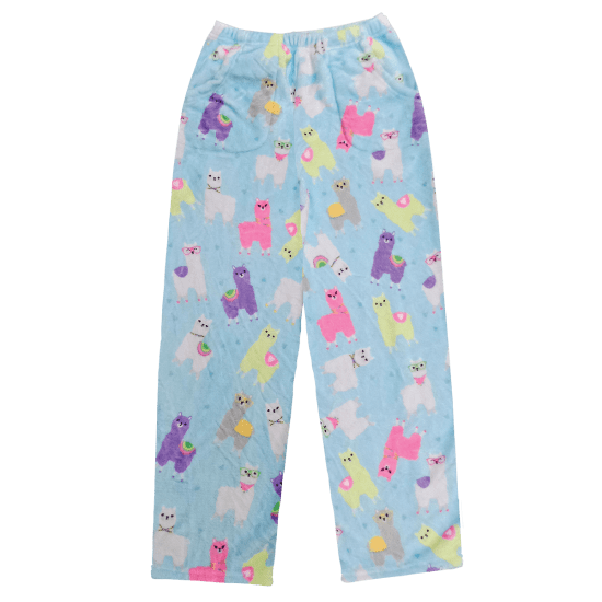 Llamas Plush Pants - Kids Medium