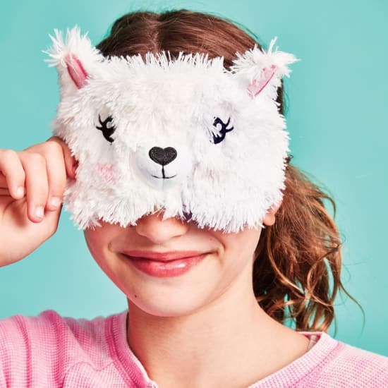 Llama or Sloth Eye Cover for a Good Night Sleep