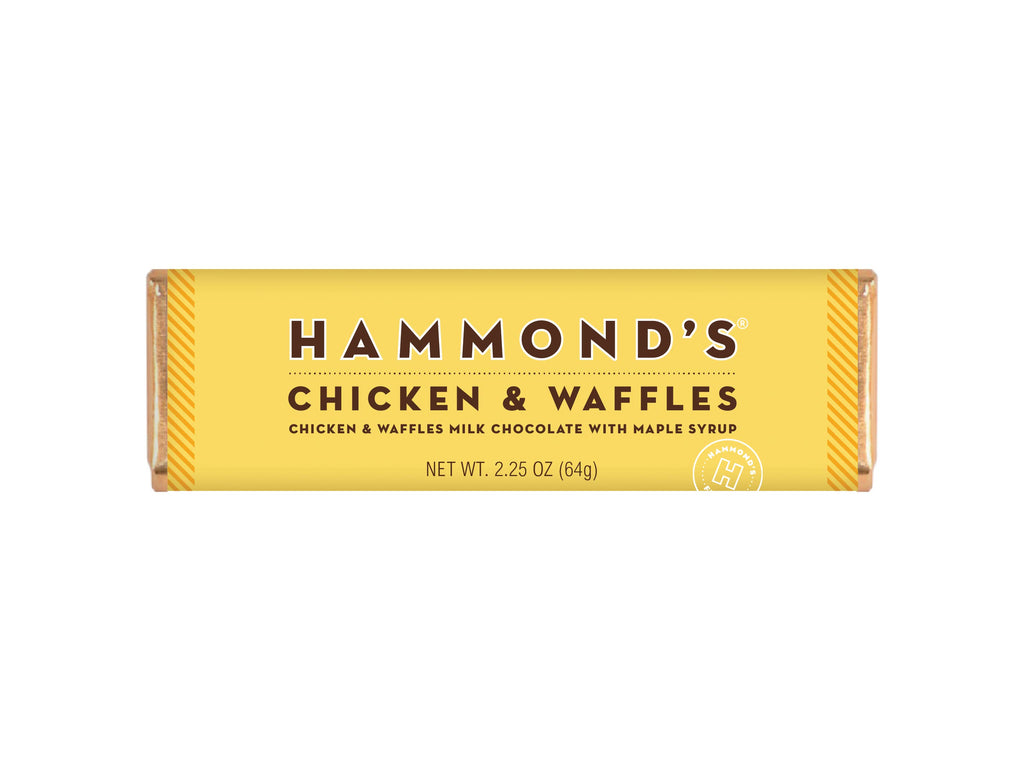 Chicken and Waffles Chocolate Bar  2.25oz
