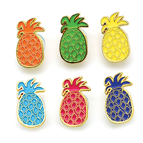 Pineapple Wine Charms - 6pc