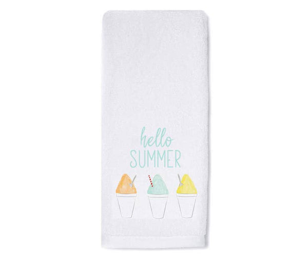 Hello Summer Hand Towel